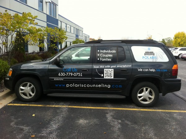 Our Newly Branded Car!